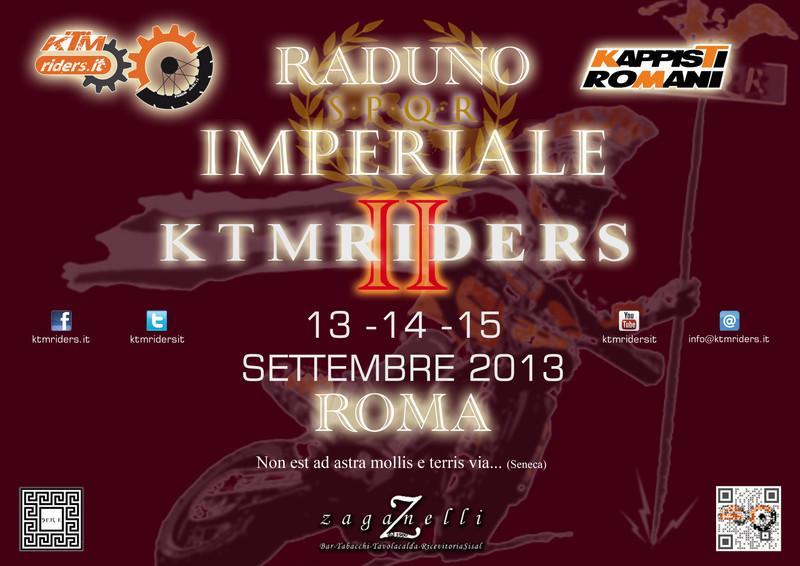 Raduno KTM Riders a Roma  Knb510