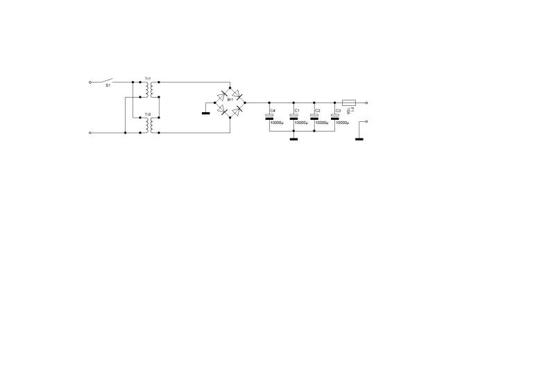 Une alim pour expérimenter les moteurs PAP Alim11
