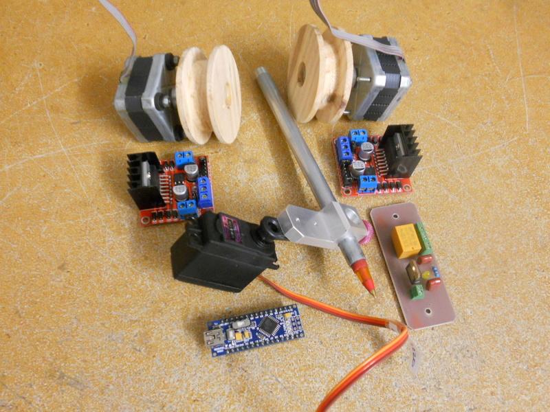 M4RC3L, robot dessinateur Dscn4912