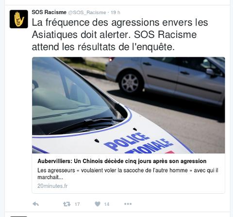 Agressions contre la communauté asiatique à Aubervilliers et ailleurs Captur26