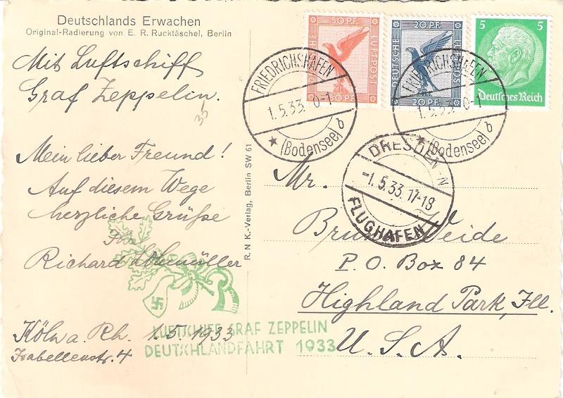 nach - Zeppelin - ungewöhnliche und seltene Destinationen Deutsc10