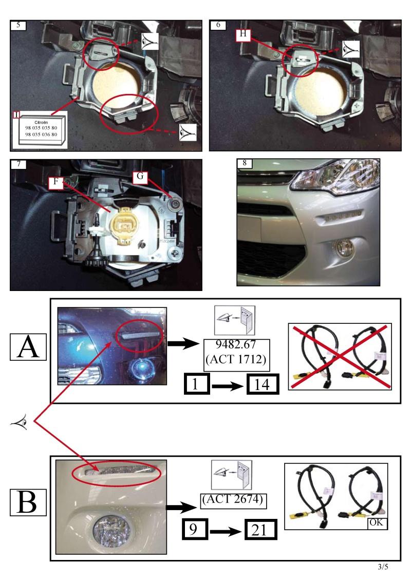 [QUESTION] Montage des LED et antibrouillard seconde monte 16096012