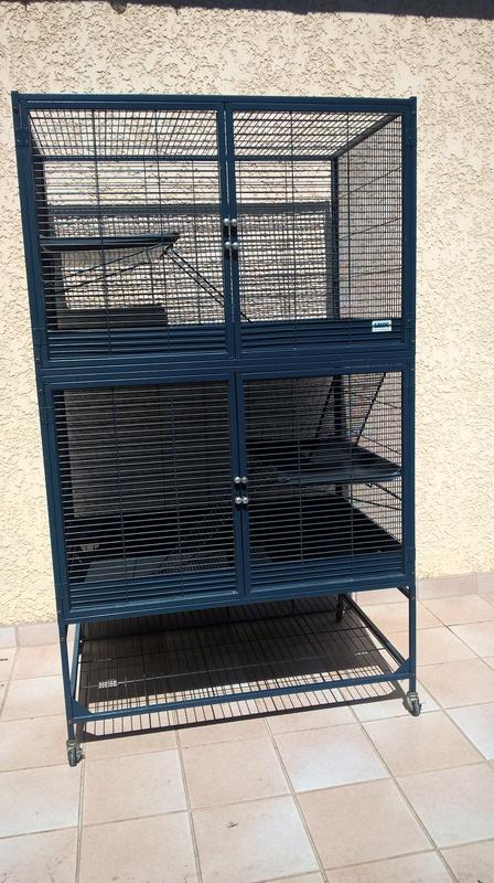 Vends cage Royal Suite 95 Double Savic Wp_20110