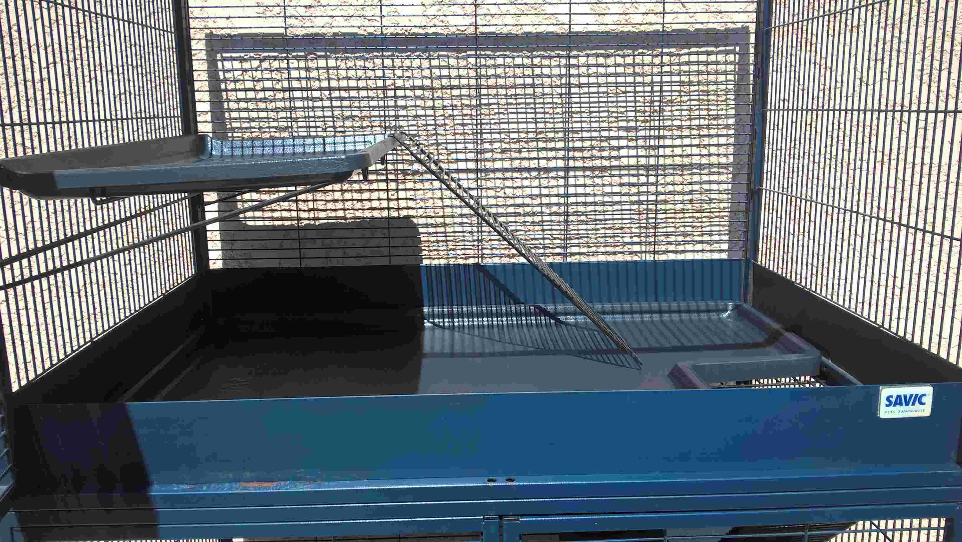 Vends cage Royal Suite 95 Double Savic Wp_20114