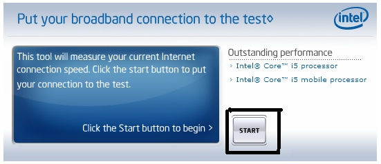 قياس سرعة الانترنت الحقيقية التي عندك من Intel  00000010