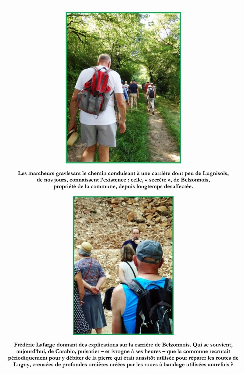 """Lugny (71) : photos de la 4e marche du patrimoine (vendredi 8 juillet 2016) """"Les marcheurs incollables sur le patrimoine"""" (""""Le JSL"""" du mardi 12 juillet 2016) 03_cop10"""