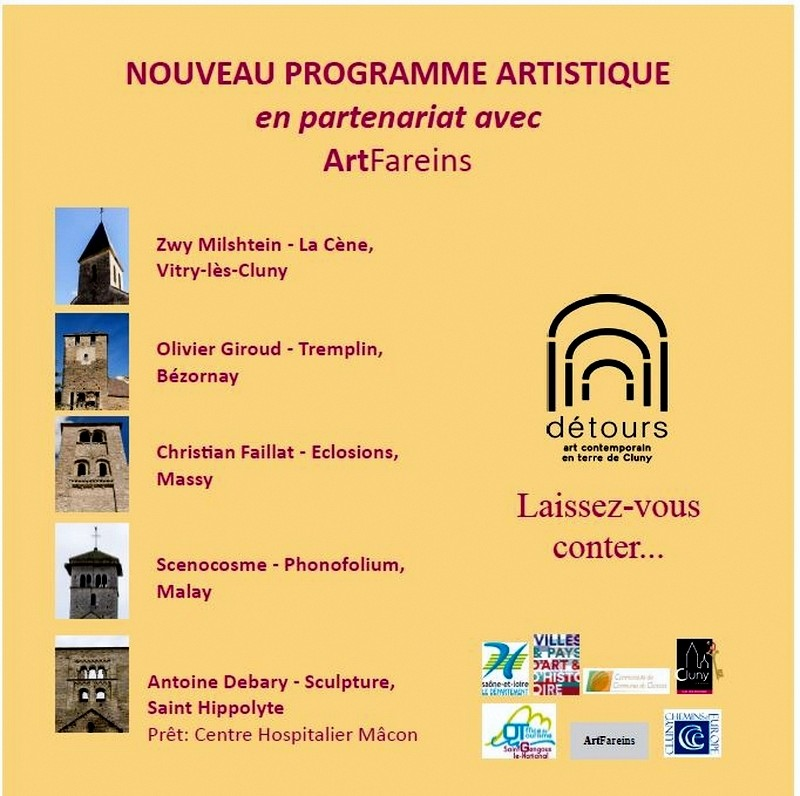 """Vidéo """"DÉTOURS, Art Contemporain en Terres de Cluny"""" Detour10"""