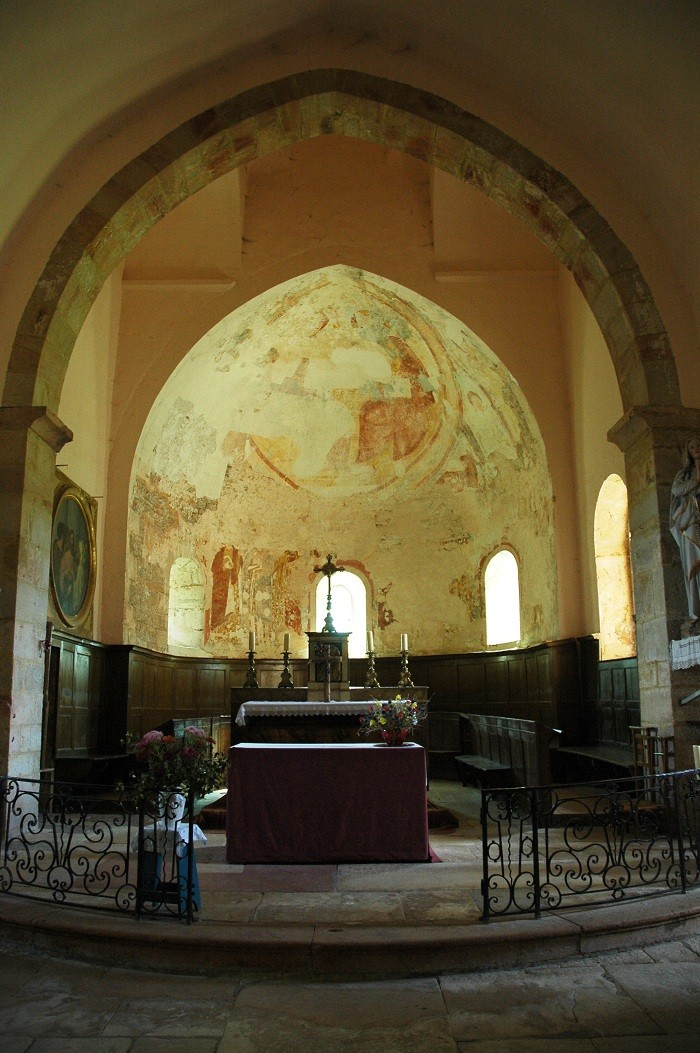 Présentation de la Chapelle sous Brancion, Culture et Patrimoine La_cha10