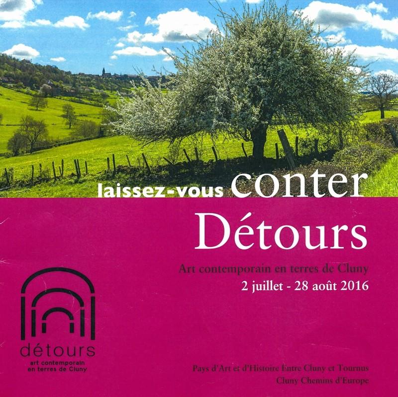 Brochure Laissez-vous conter Détours 2016 Cluny Chemin d'Europe PAH Laisse12