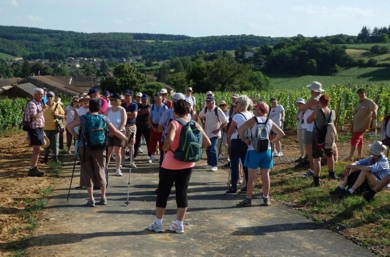 """Lugny (71) : photos de la 4e marche du patrimoine (vendredi 8 juillet 2016) """"Les marcheurs incollables sur le patrimoine"""" (""""Le JSL"""" du mardi 12 juillet 2016) Lugny_22"""