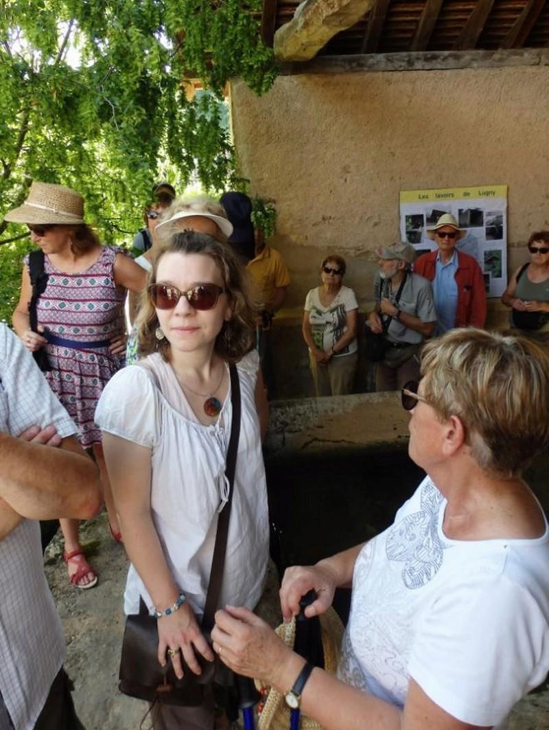 """Lugny (71) : photos de la 4e marche du patrimoine (vendredi 8 juillet 2016) """"Les marcheurs incollables sur le patrimoine"""" (""""Le JSL"""" du mardi 12 juillet 2016) Lugny_23"""