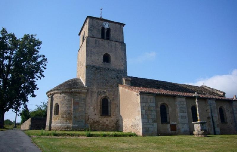 Le chantier de restauration des peintures murales de l'église de Buffières (août 2012) P1150212