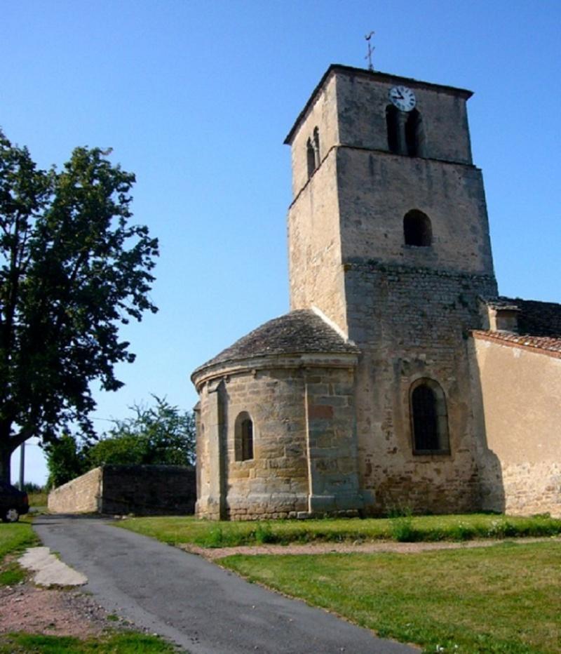 Le chantier de restauration des peintures murales de l'église de Buffières (août 2012) P1150213