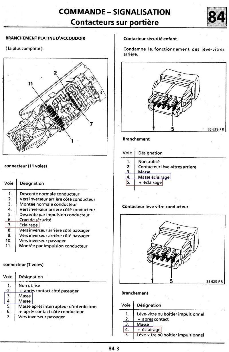 Eclairage boutons habitacle Turbo DX 1bis10