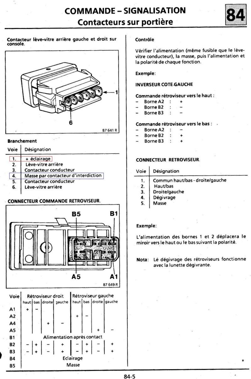 Eclairage boutons habitacle Turbo DX 3bis10