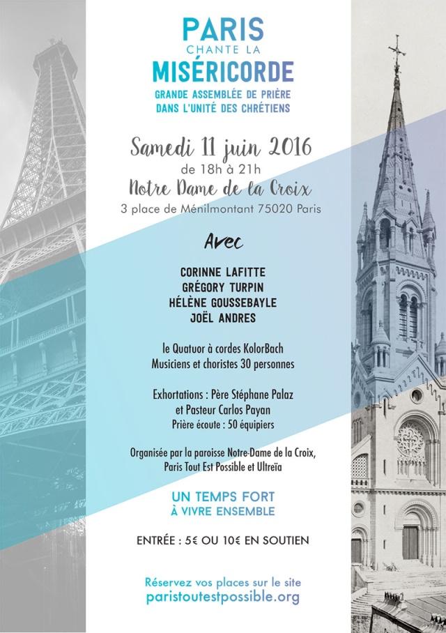 Samedi 11 Juin 2016 à 18 h : PARIS chante la Miséricorde Pclm-f11