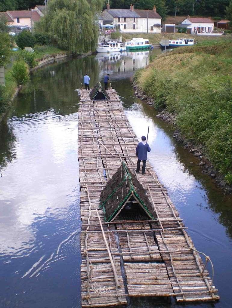 le canal du Nivernais Flotes10
