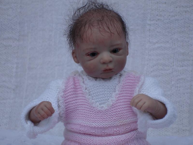 Das Mini -Baby heute im Strampler Dsc02519