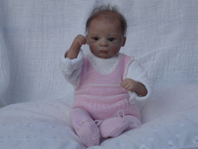 Das Mini -Baby heute im Strampler Dsc02521