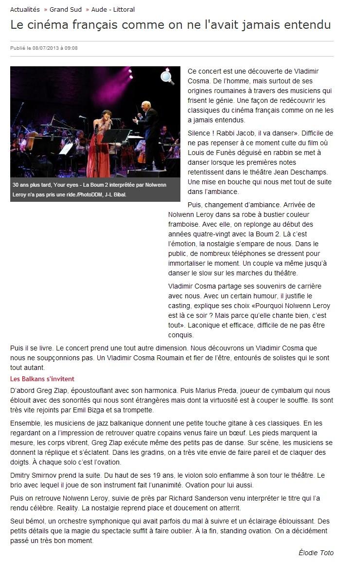 Carcassonne  Vladimir Cosma La_dep10
