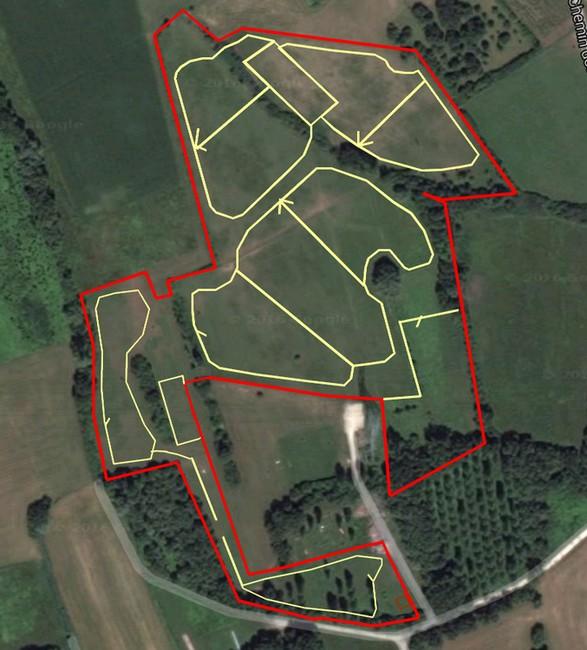 """Installation d'un """"paddock paradise"""" sur 6ha! Le PP vu du drone :) - Page 4 229"""