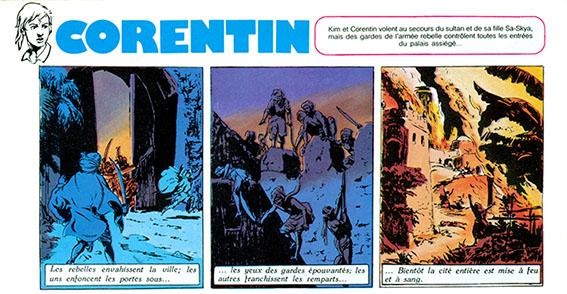 Corentin : Cuvelier et Jacques Martin Tintin10