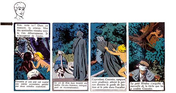 Corentin : Cuvelier et Jacques Martin Tintin13