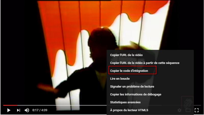 Bug ? Intégrer vidéo YouTube  Code10