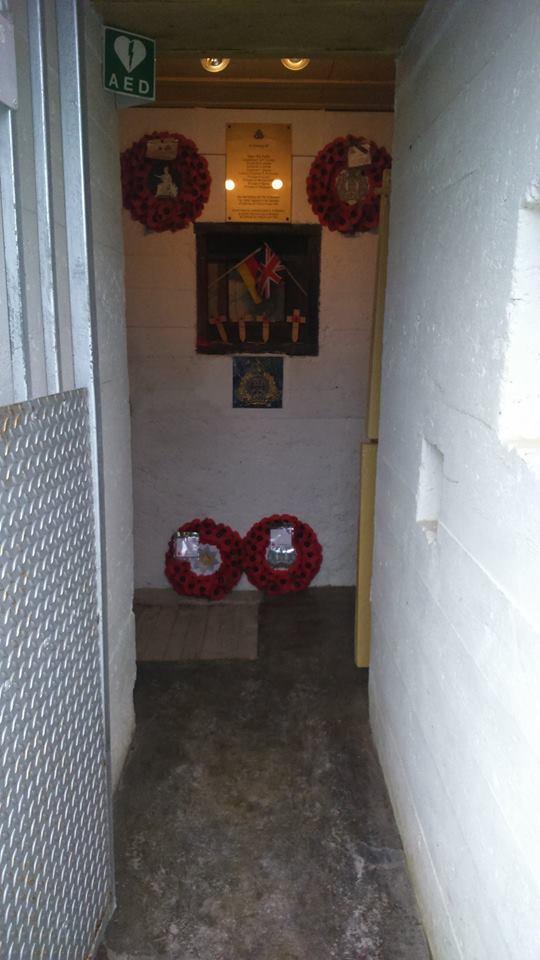 COLLEVILLE-MONTGOMERT 14880 site batterie Hillman 12932910