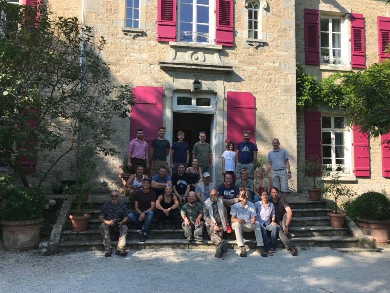 Parcours 3D 15 juillet 2018: Le Chateau de Roche Sur Linotte Img_7514