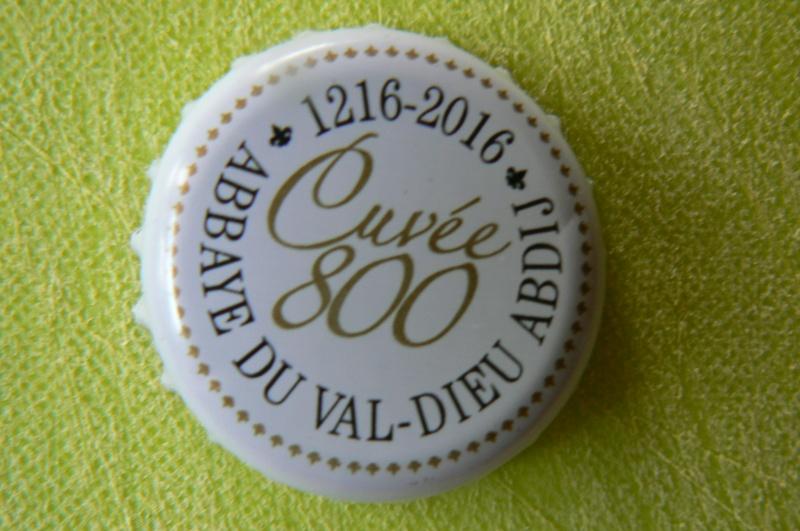 VAL  DIEU  cuvée 800   Belgique P1120412