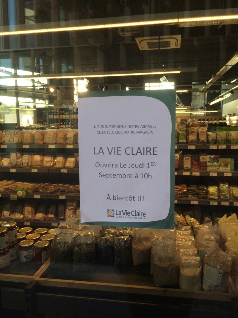 Magasin La Vie Claire Img_1643