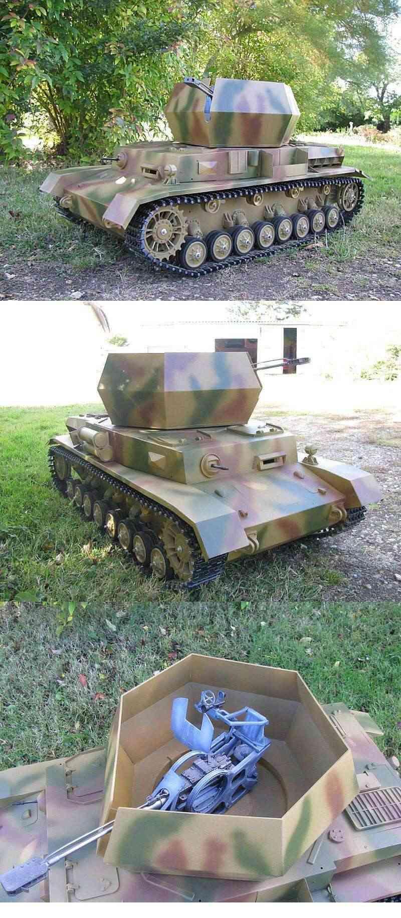 "Panzer IV "" Wirbelwind"" et "" Ostwind"" Photo_34"