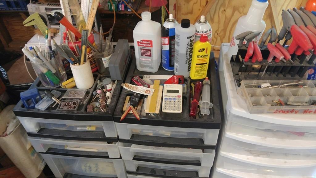 Redneck workshop organizational methods 08301615