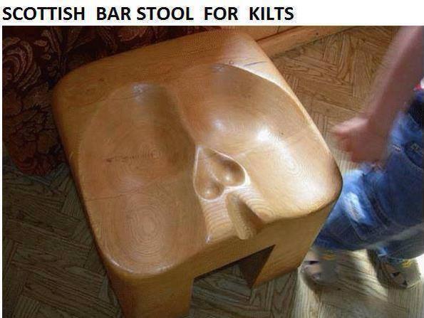 Scottish bar stool.  10551010