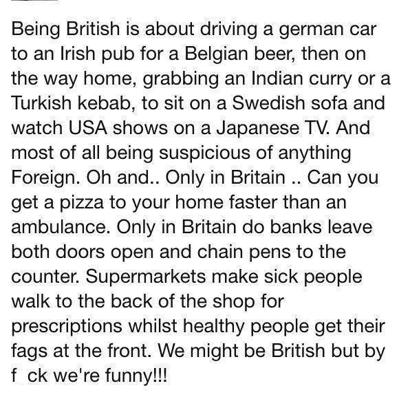 Being British 11056511