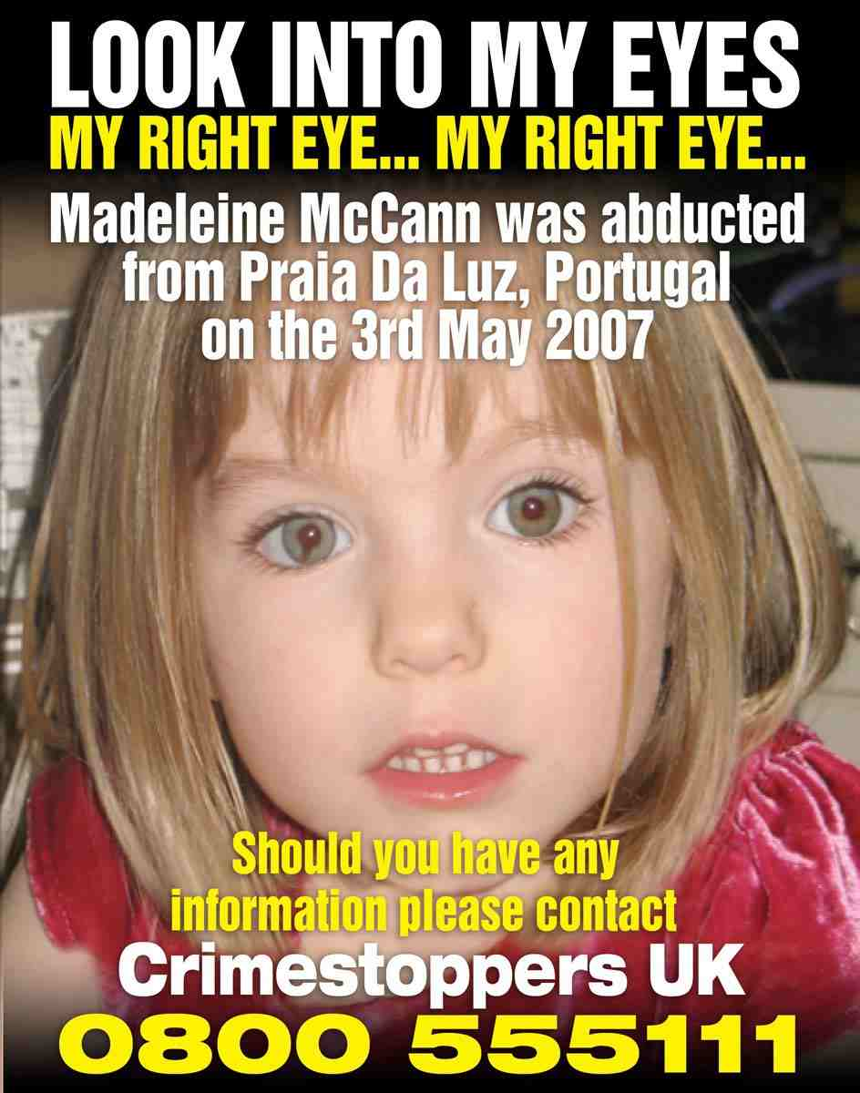 Why have the McCanns lied about Maddie's coloboma for 4 years? - Page 4 Madele11