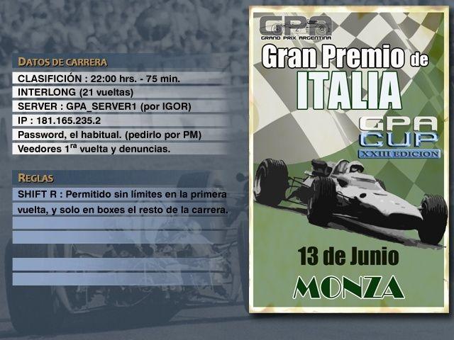 CUP Edicion XXIII - Monza Anunci10