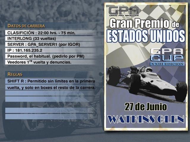 CUP Edicion XXIII - Watkins Glen Anunci13