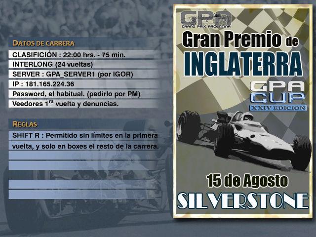 CUP Edicion XXIV - Silverstone Anunci28