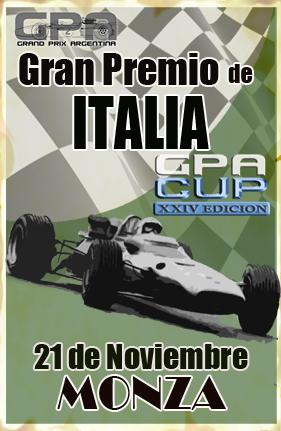Calendario y Descargas Torneo GPA 28ª - Temporada GPL Nov_2110