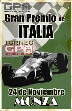 Calendario y Descargas Torneo GPA 28ª - Temporada GPL Nov_2410