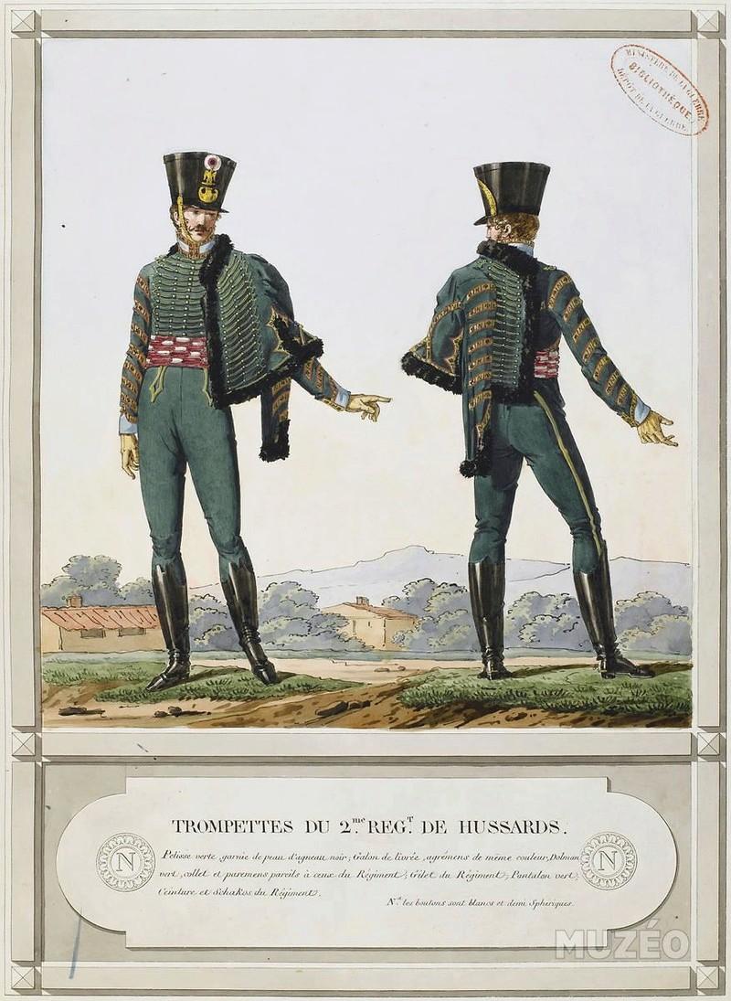Trompette de Hussards du 7ème Régiment à Waterloo. - Page 3 2e_ree10