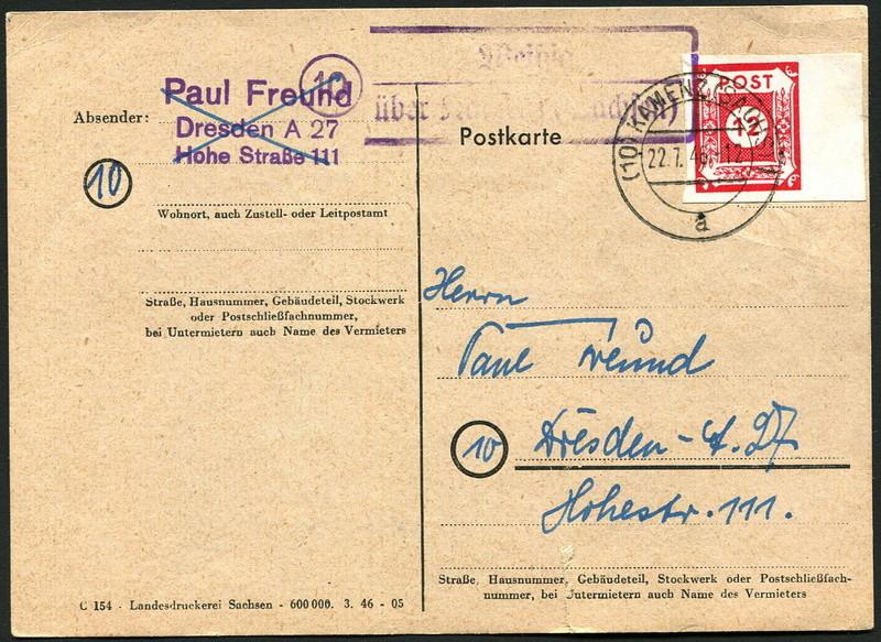 Ostsachsen (OPD Dresden) -Sowjetische Besatzungszone- - Seite 11 Postst11