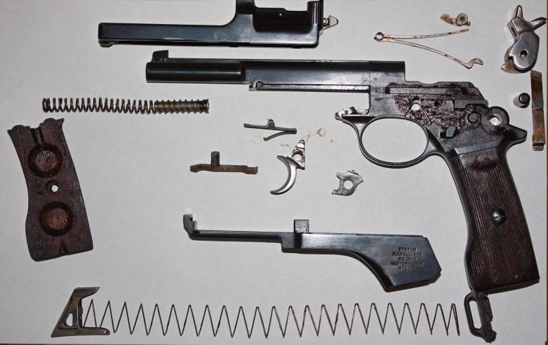 Pistolet Mannlicher M. 1905 Argentin M1905-11