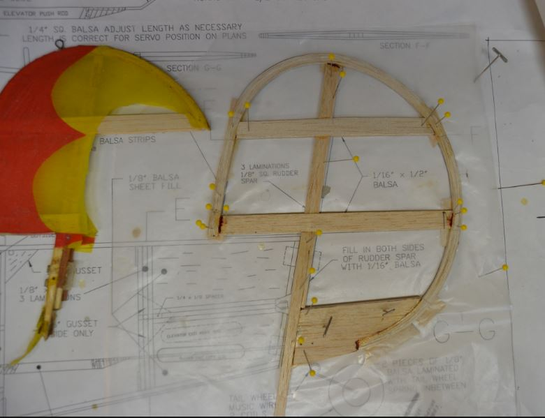 The Lazy Bee's New Rudder ! 0_010