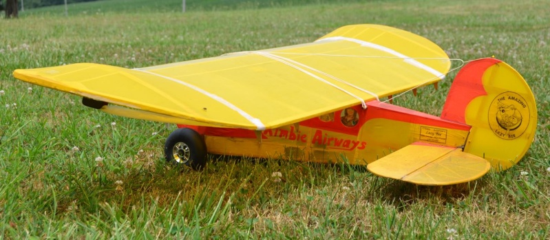 The Lazy Bee's New Rudder ! 13_11