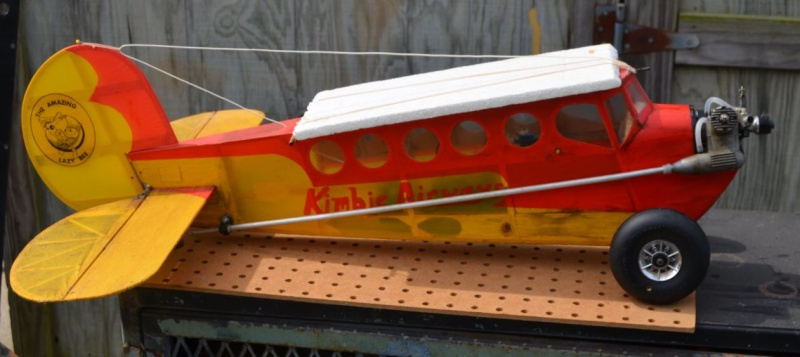 The Lazy Bee's New Rudder ! 6_12