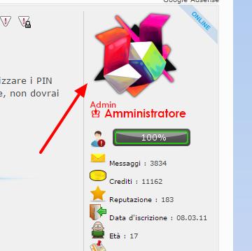 Come si cambia avatar su Wiki Info? Gogo10