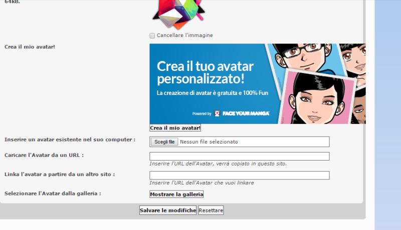 Come si cambia avatar su Wiki Info? Gosp10